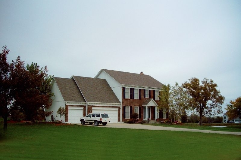 Two Story Federal Style Home