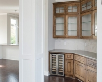 Bar area and Cabinets