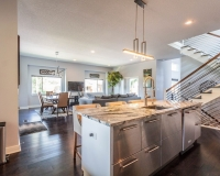 Kansas City Modern Kitchen Island