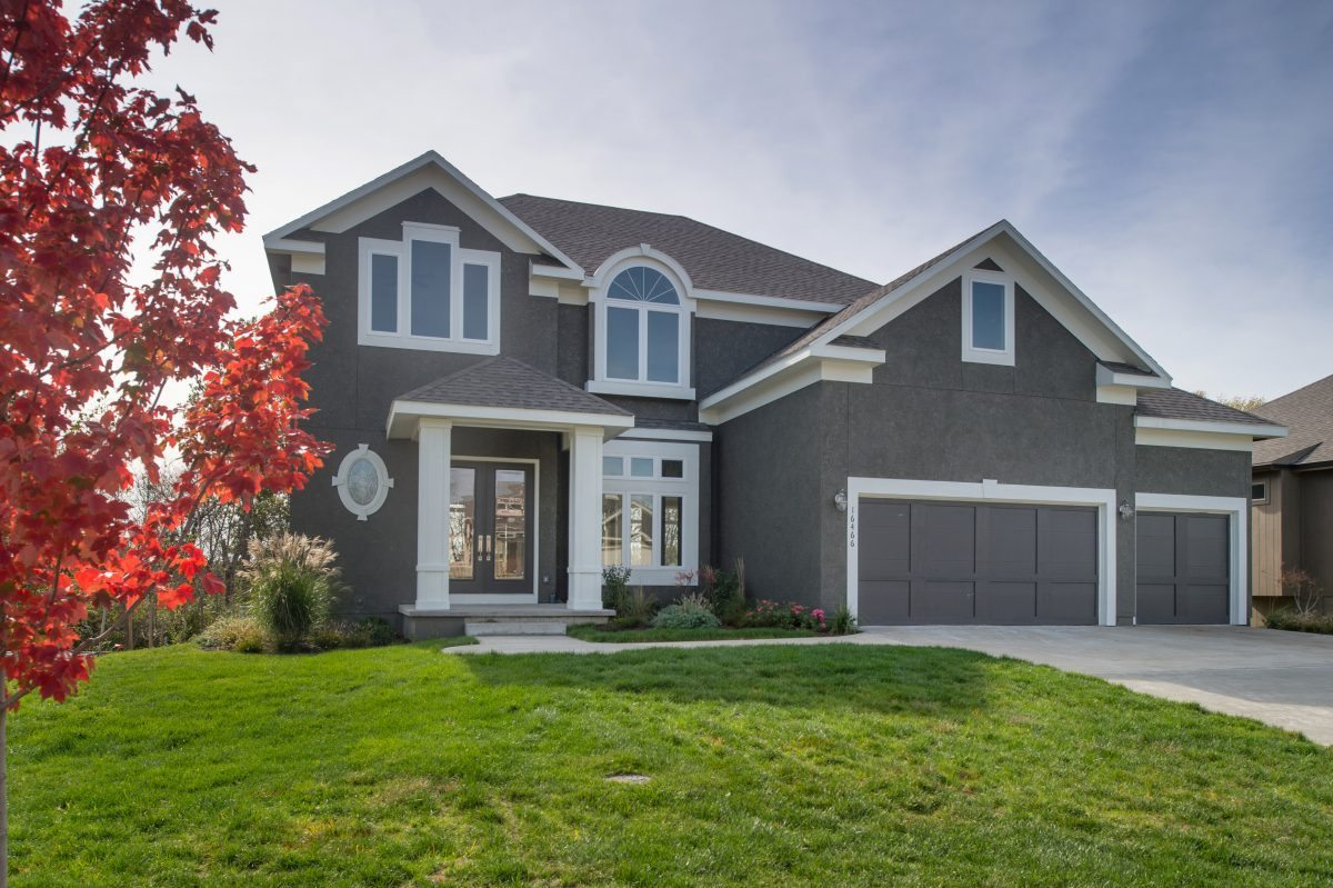 New Construction two story home in Kansas City with Indoor Water Feature