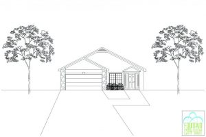 Cayman II Front Elevation